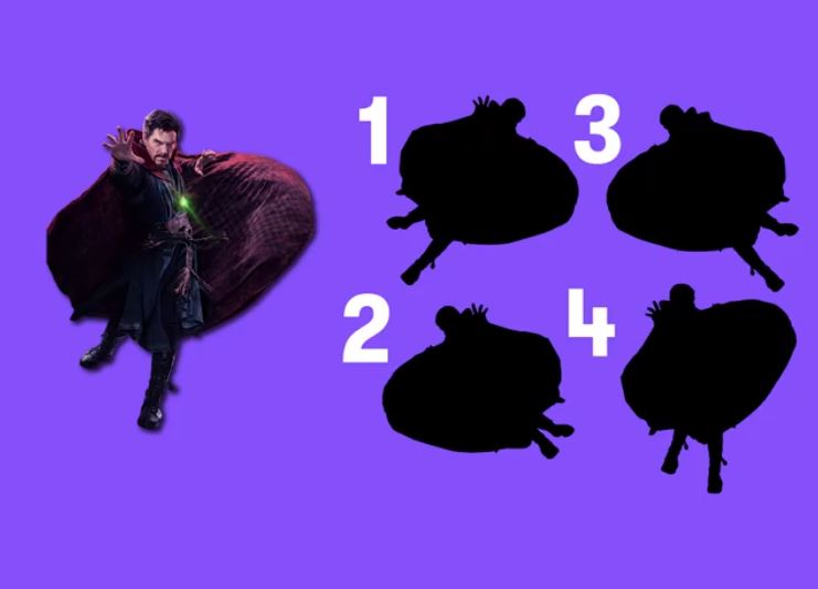 Which silhouette matches the real superhero | I'M LEARNING ...