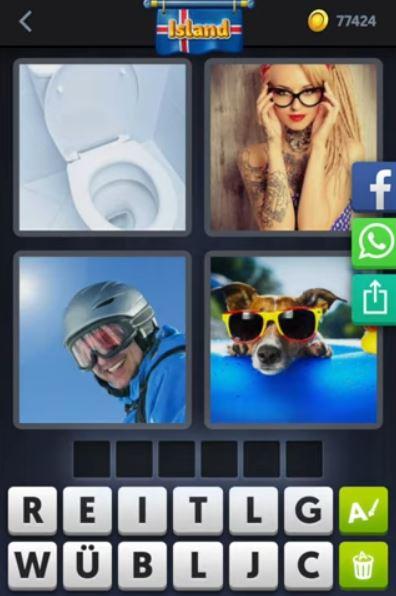 Tägliches Rätsel 4 Bilder 1 Wort